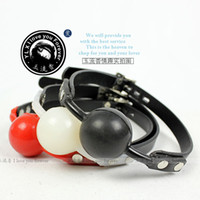 Ball Gags & Bite Gags open mouth gag - Sex product open mouth bondage Hole red Pectin ball gag passion flirting BDSM mouth gags sex toys