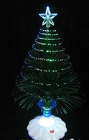 fiber optic tree - Hot sale The Christmas tree Christmas gift fiber optic light Christmas hat activity suppli