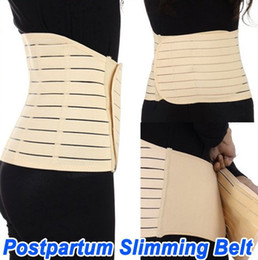 Wholesale Ivory Postpartum corset support Recovery Belt Tummy Slimming Band