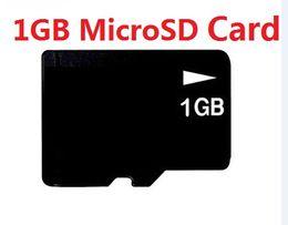 1GB Micro SD HC Memory Card Full Capacity 1 GB MicroSD TF Flash mini Cards w adapter 10pcs HK post
