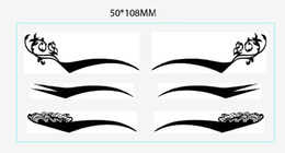 Wholesale 100 sheets pairs sheet eye stickers eyeliner stickers Temporary Tattoos cosmetics tattoo on sale