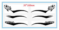 Wholesale 500sheets pairs sheet Temporary Tattoos eye stickers eyeliner stickers top quality