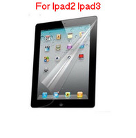 Wholesale High Quality Inch Screen Protector For Ipad2 Ipad3 Transparent Screen Film For Ipad Ipad