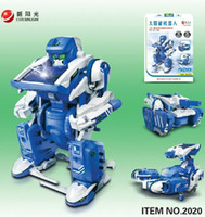 Wholesale Pieces New in Solar Kits Solar Robot DIY Toy Educational DIY Toy