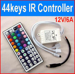 Wholesale Keys IR Remote Controller V A for SMD RGB LED Strip light string