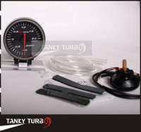Wholesale Tansky APEXI MM BOOST GAUGE ELECTTRO LUMINESCENT Auto Boost Guage Boost meter black TK AP60001 B