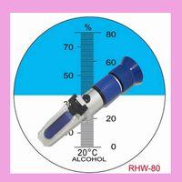 Wholesale Hand held Beer Brewing Wine Refractometer RHW ATC Blue Rubber