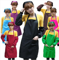 Wholesale Chefs Catering Bar Plain Apron Waiter Waitress Butcher Bib Kitchen Cooking Craft