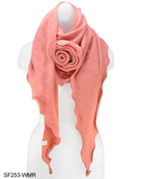 Wholesale fashion Rose scarf fashion for women SF253 six colour to choose