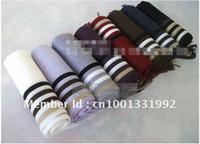 Wholesale pc Fashion Knitting leisure popular man scarf stripe scarves cashme