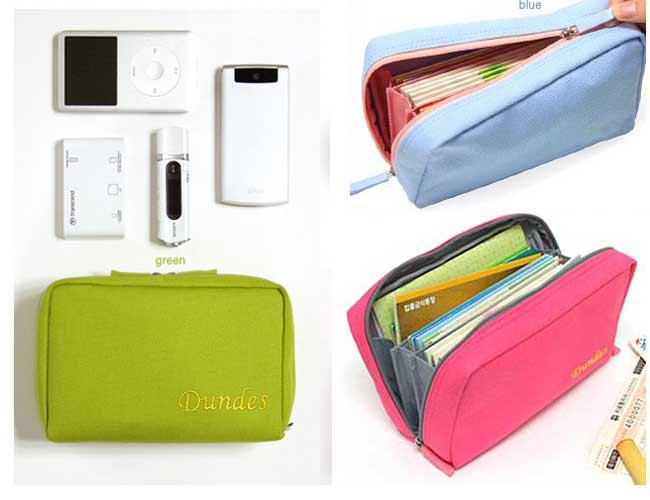 EMS Free Women Purse Pouch Cosmetic Make Up Bag Storage Document ...