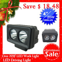 Wholesale Christmas Cree T6 LED x4 SUV ATV WD boat truck off road night work Ultra bright LED Light lighting
