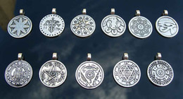 Wholesale Talisman Pewter Kit sold in per package of pewter wear necklace pewter jewelry