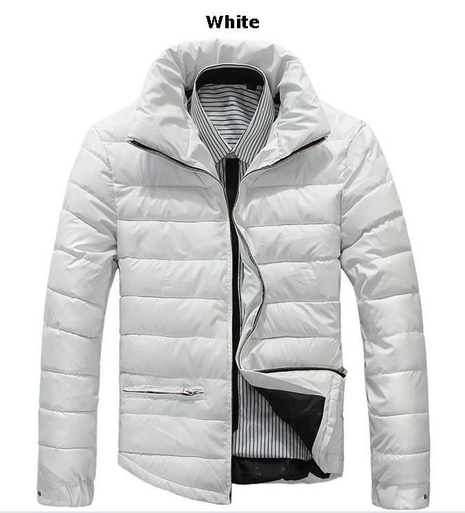 Mens White Down Jacket Men's Down Jacket Winter