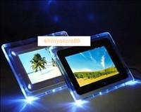 achat en gros de inch tft cadre photo numérique-7 pouces TFT LCD multifonction Cadre photo numérique photo avec MP3 MP4