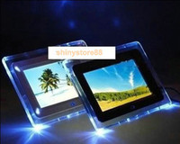 mp4 player picture frame al por mayor-7 pulgadas LCD TFT multifuncional imagen marco de fotos digital con reproductor de MP3 MP4