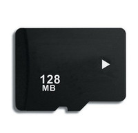 Memory Card   128MB Micro SD Memory Card HC TF t Flash mini Cards Full Capacity 128 MB cards 100pcs DHL