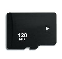 Memory Card   128MB Micro SD Memory Card HC TF t Flash mini Cards Full Capacity 128 MB cards 100pcs DHL