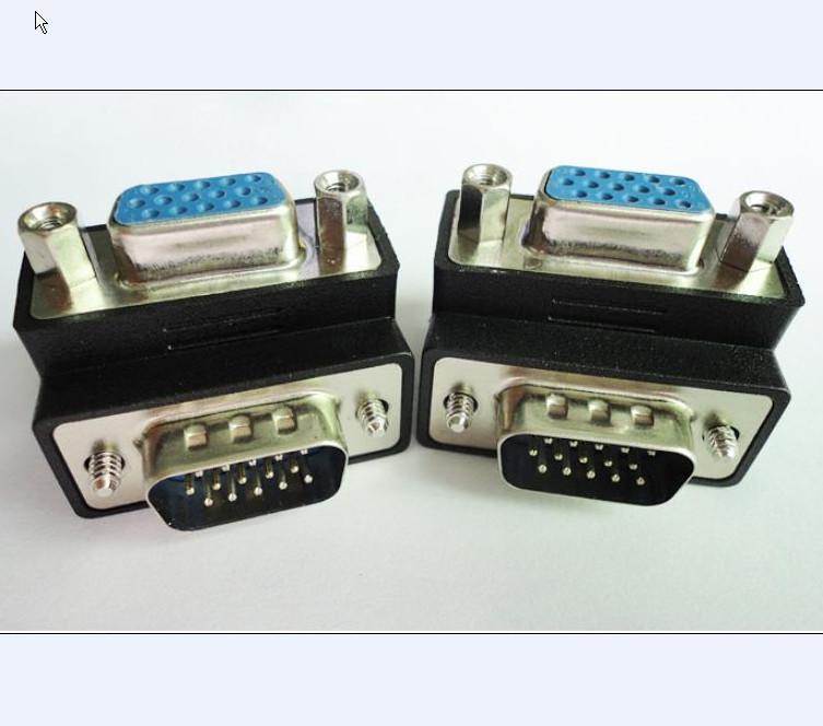 Vga Adapter Cable Vga Adapter,90 Degree,vga