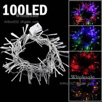 Wholesale 10 Set LED Optical Fiber String Lamp Light M for Christmas Decoration Party Wedding Multicolor