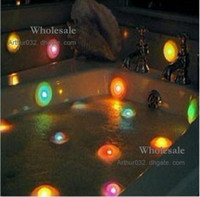 Wholesale Xmas Gifts Colors LED Light Bathtub Bath Pool Light Changing Color Fun Toy Spa Light