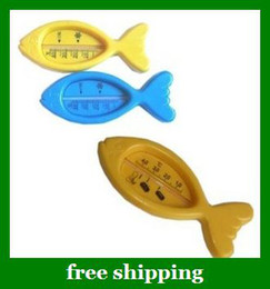 Wholesale Hot Baby water temperature gauge Kids fish Infant Bath Tub Toy Water Thermometer gifts