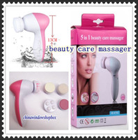 Wholesale Multi function in Electric Beauty Care Facial beauty care massager Roller with Massage Head