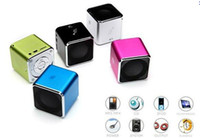 Wholesale Mini original music angel portable speaker MD07 with FM support TF card speaker