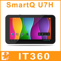 Wholesale SmartQ U7H Projector inch IPS Android Tablet PC TI OMAP4460 Dual Core Dual camera Bluetooth