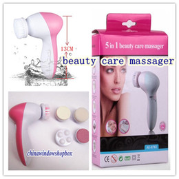 Wholesale Multi function in Electric Beauty Care Facial beauty care massager Roller with Massage Headhot
