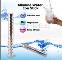 Wholesale PH Ionizer Alkaline Water Stick Filter Portable Hydrogen Water Stainless Steel