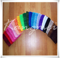 Wholesale 2012 top quality inch crochet headband colors