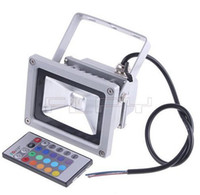Wholesale New W RGB LED Floodlight Flood Light Ultra bright Landscape Lighting V