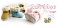 Wholesale New BABY SUGG children in full velvet snow boots boots non slip toddler shoes
