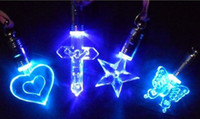 Wholesale NOVELTY Flash LED necklace lamp light decorations reception wedding party christmas festival