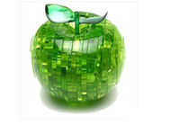 Wholesale New Toy and Gits Wonderful D Crystal Puzzle Apple Puzzles