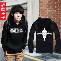 Wholesale Hot One piece Edward Newgate Cosplay Hoodie Thick Winter