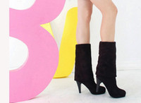 Thigh-High Boots over knee high heel boots - Hot Sale Women s Shoes Over the Knee Thigh Stretchy High Heels Boot Size Black Brown Sexy t