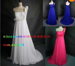 Wholesale Stock White Ivory Mei red and blue Wedding Dress Bridal Gown Us Size