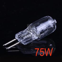 75W GY6.35 Flash Light Modeling Lamp Bulb 3200K 220V For Photo Studio Strobe Flashlight Lighting