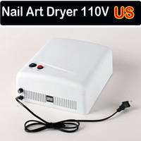 Wholesale Hot Nail Lamp Dryer UV Lamp Gel Curing W V V x w Tube Light Bulbs Light US EU AU Plug