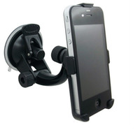 Wholesale CAR PHONE HOLDER WINDOW SUCTION MOUNT FOR iPHONE S GALAXY S3