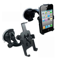 Wholesale CAR PHONE HOLDER WINDOW SUCTION MOUNT FOR iPHONE S G With retail package