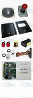 arcade coin door - DIY Arcade accessories Bundles kits With Joystick Pushbutton Microswitch Coin door Jamma harness for