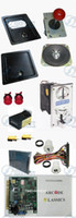 arcade machine arcade coin door - Arcade parts Bundle kits With in PCB Pushbutton Power supply Coin acceptor coin door to Build U