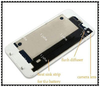 Back Glass Battery Housing Door Back Cover Replacement Part ...