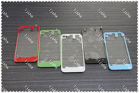 Wholesale TRANSPARENT Glass Back Cover Housing Case Replacement For iPhone G S