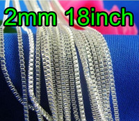 Wholesale Excellent Silver Necklace Box mm inch Jewelry Necklaces High Quality