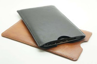 Wholesale Simple PU Leather Case Bag for Smart Phone or Tablet PC inches Available Mix Color
