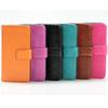 Leather For Apple iPhone 5 Premium Wallet Case Dolce Pouch Flip STAND Cover dhl ship HOT SELL NEW